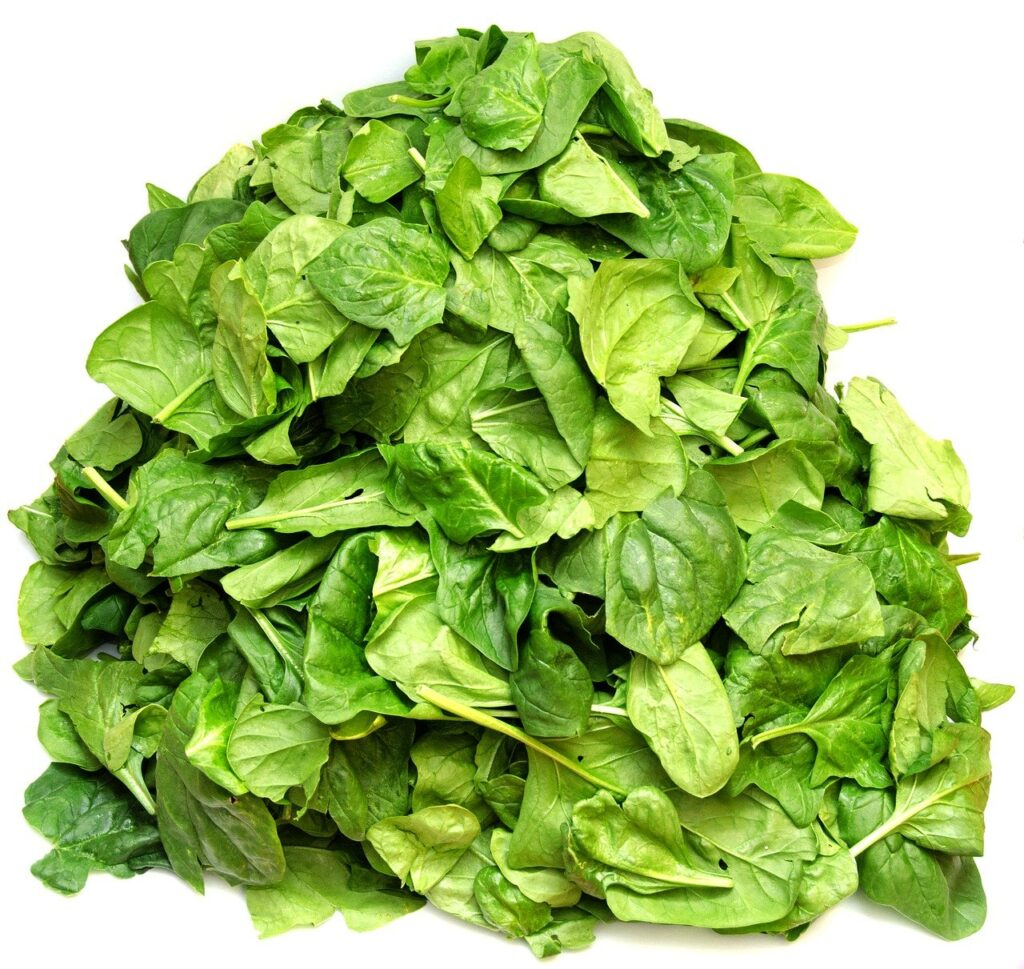 spinach, vegetables, green